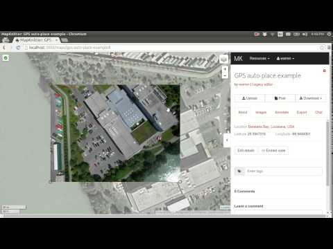 Automatic placement of images in MapKnitter using GPS metadata