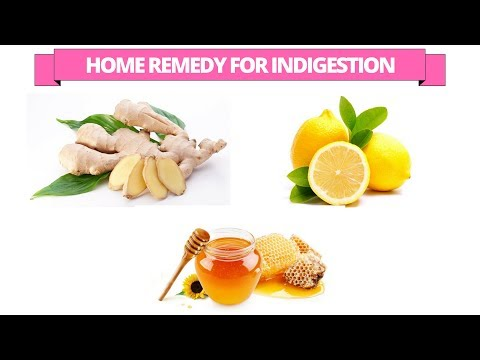 How to treat indigestion with Lemon and Ginger