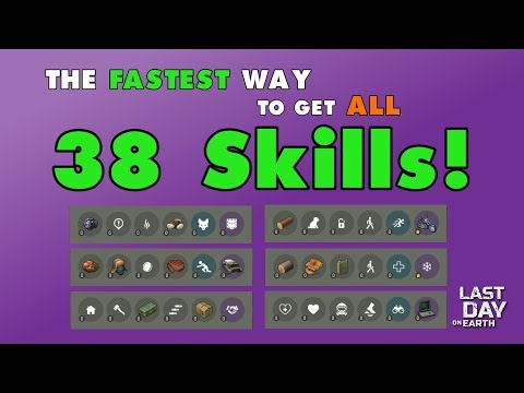 The Fastest Way to Get All 38 Skills! (v.1.8.2) (Vid#141)