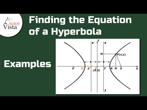 Equation of a Hyperbola