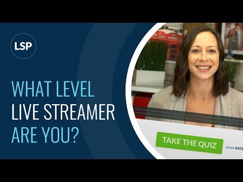 What Level of LIVE Streamer are YOU???
