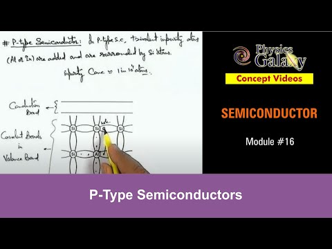 16. Class 12 Physics | Semiconductor & its Types | P-Type Semiconductors | by Ashish Arora