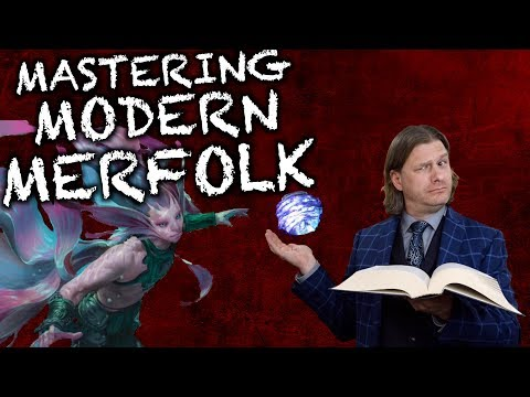 Mastering Modern Merfolk - A Tolarian Deck Lecture for Magic The Gathering (Masters 25 Preview)