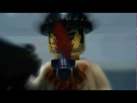 Throwing knife IN LEGO !  [HD]