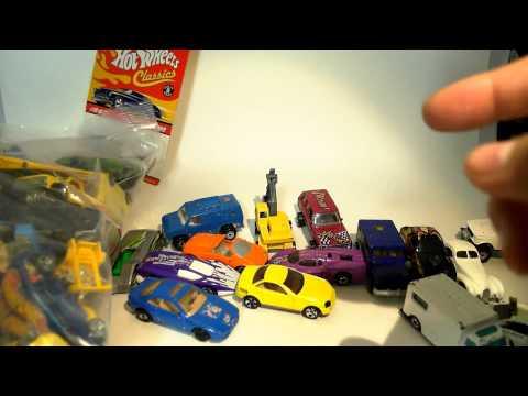 VINTAGE HAUL - ebay bulk buy of older (semi-vintage) HOT WHEELS cars in