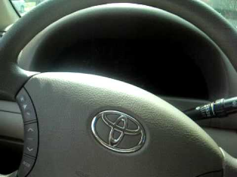 How to turn off Maintenance Light Off on a Toyota Camry 05