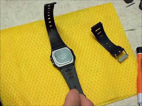 How to replace a watch band