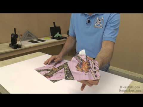 KYDEX® Sheet - Mossy Oak® Break-Up® Pink Camo by CKK