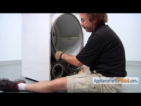 Duet Dryer Drum Support Roller (part #WPW10314173) - How To Replace