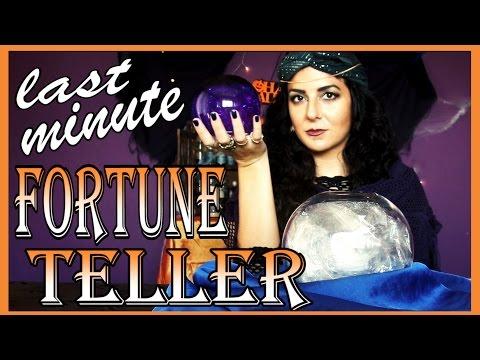 DIY Fortune Teller Crystal Ball - Last Minute Halloween