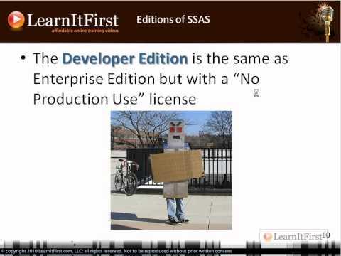 SSAS Basics: Editions of SQL Server 2008 and SQL Server 2008 R2