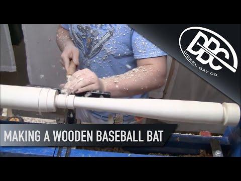 Making a Wood Baseball Bat