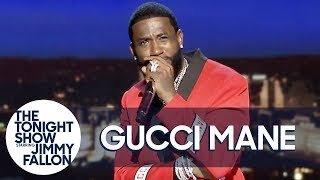 Gucci Mane Performs a Trap Version of