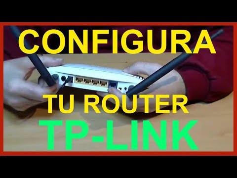 Configuración wifi del router neutro TP-LINK