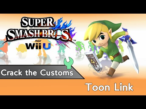 CRACK THE CUSTOMS Toon Link Custom Special Moves