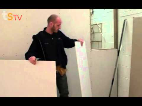 Tommy's Trade Secrets - How To Plasterboard A Stud Wall