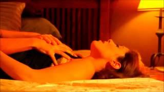 mature redhead masturbating with red dildo