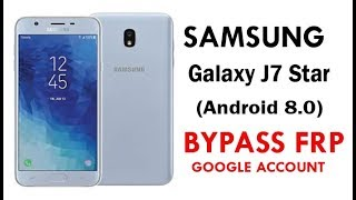 Galaxy J7 Crown Remove Google Account (FRP) Security bypass