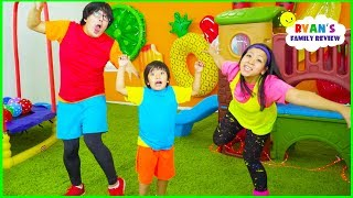 Body Parts Exercise Songs for Children 🎵 You Can Do It Too 🎵 Ryan