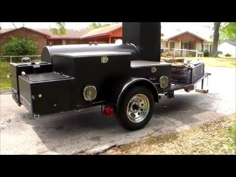 Lone Star Grillz Custom Trailer Pit Review