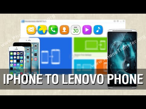 How to Transfer All Data from iPhone to Lenovo Phone in Batch