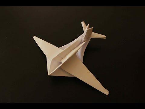 Como hacer un Avion de Papel que Vuela Mucho - Aviones de Papel - Origami Avión | Geppetto