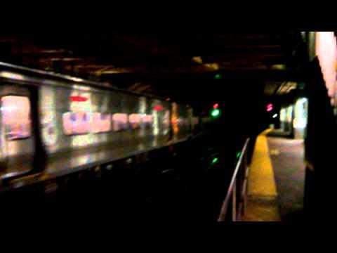 LIRR train departs Penn Station