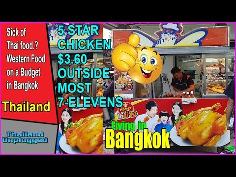 Sick of Thai food  Western Food on a Budget  A Normal Day in Bangkok
