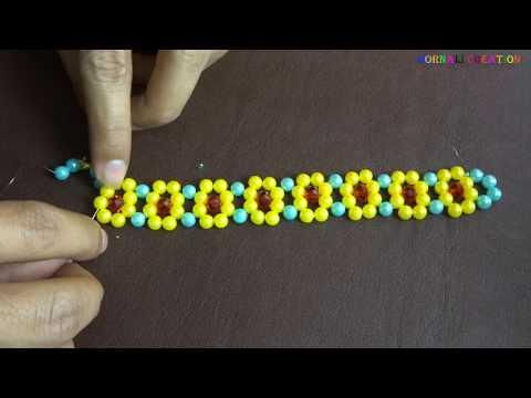 home made diy pearl jewelary|bracelet making tutorial|bridal jewellary