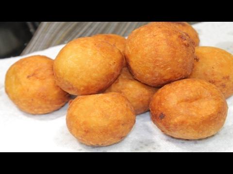 How To Make Breadfruit balls (Boulette) Lame Veritab