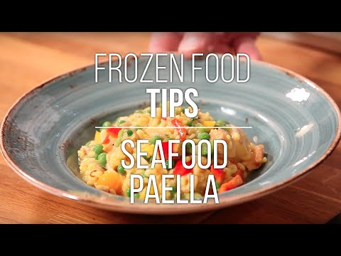 Frozen Food Tips: Seafood Paella