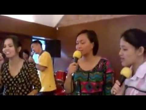 Practice Dusun Song for Gawai Kaamatan St. Mary's