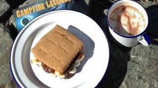 ASMR: S'mores   Hot Chocolate   Recipe   Eating Sounds