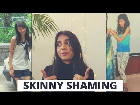 SKINNY SHAMING- MY STORY / How to deal with body shaming.