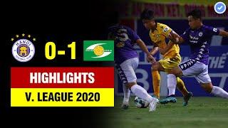 Highlights Hà Nội 0-1 SLNA | Siêu phẩm để đời từ ngoài vòng cấm khiến Văn Công đứng nhìn