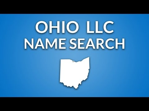 Ohio LLC - Name Search