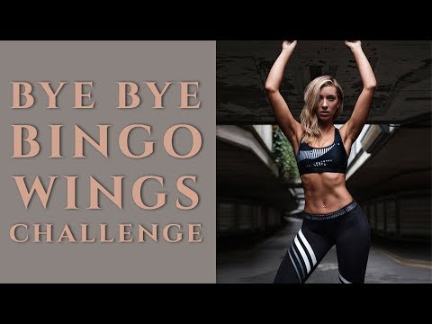 BYE BYE BINGO WINGS | ARM TONING | DAY 4- CHALLENGE 4