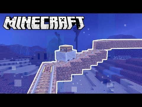 Make an UNDERWATER MINECART SYSTEM in Minecraft!