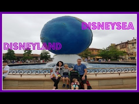 Tokyo Japan Travel Vlog Part 3: Disneyland and DisneySea