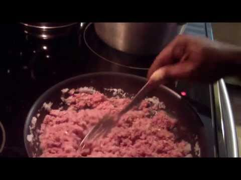Corn beef and white rice dinner corned beef Horrmel recipe