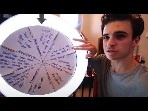 SPIN WHEEL OF DARES w/ MY FAMILY!