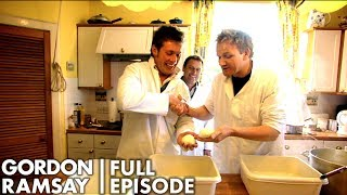 Gordon Ramsay Helps Make Scotland's First Buffalo Mozzarella | The F Word Full Episode