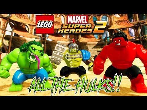 LEGO Marvel Super Heroes 2 ALL THE HULKS! Unlocked