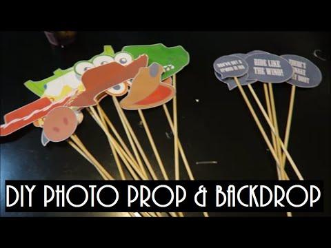 TOY STORY BIRTHDAY PARTY SERIES : DIY PHOTO PRO & BACKDROP