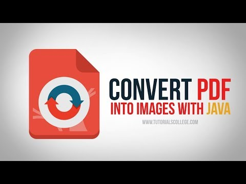 How to build a PDF to Image Converter using Java Part 1