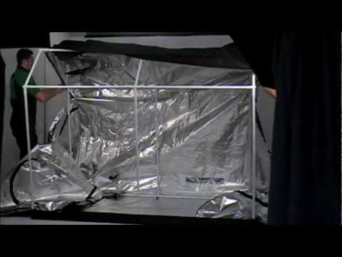OLD_How to Assemble the Roof-Qube 1224 [RQ1224] Grow Tent (2012)