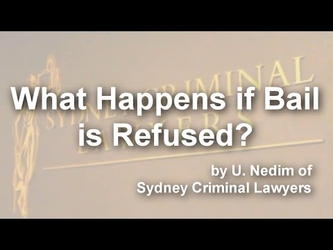 What happens if Bail is Refused?