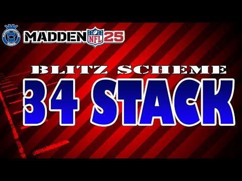 Madden 25 | 3-4 Stack [Scheme + Blitz]