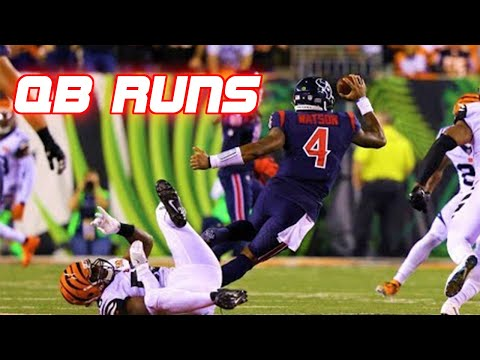 NFL Best Quarterback Runs of All Time (QB Runs)