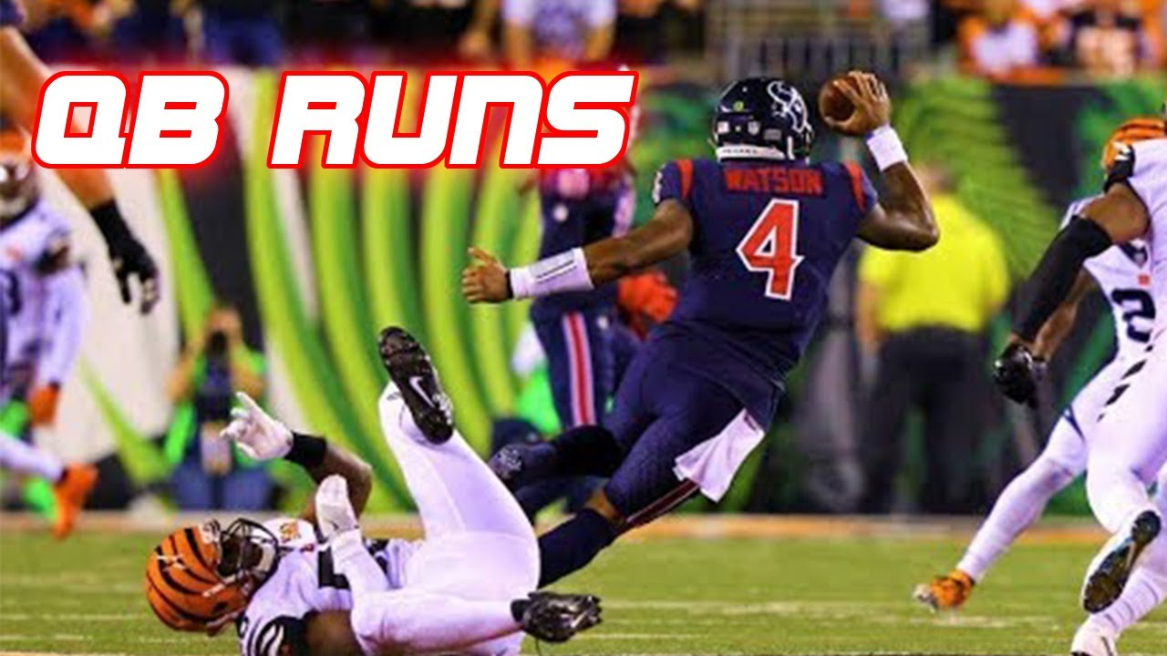 NFL Best Quarterback Runs of All Time